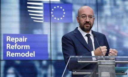 Oggi primo vertice Ue faccia a faccia su Recovery e bilancio