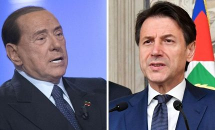 Addio a Salvini, Berlusconi verso Renzi e il neo-statista Conte