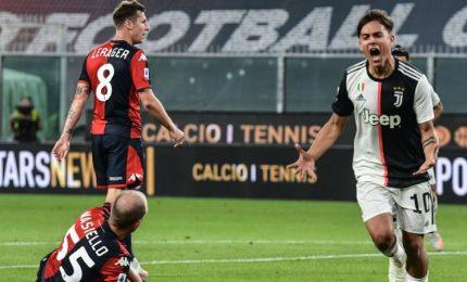 Genoa-Juventus 1-3, continua la fuga dei bianconeri