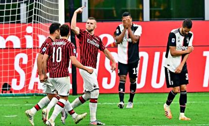Il Milan ribalta la Juve, 4-2 ed ora è quinto