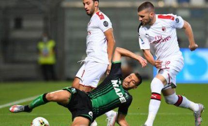 Sassuolo-Milan 1-2, i rossoneri aritmeticamente in Europa League