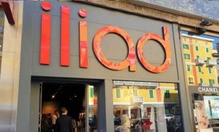 Iliad entra in mercato fisso in Italia, accordo con Open Fiber