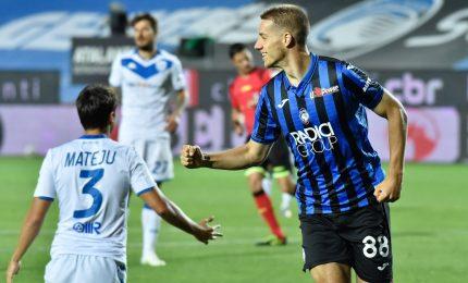 Atalanta-Cagliari 5-2, orobici a punteggio pieno