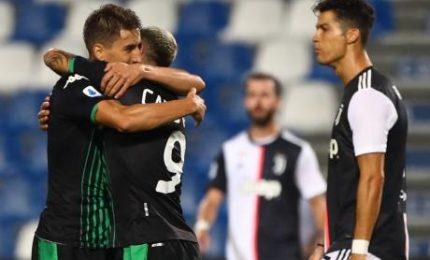 Juve si ferma con Sassuolo, vince la Roma. Fiorentina ok a Lecce