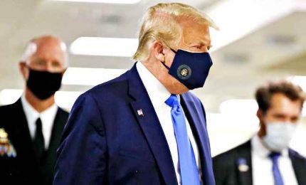 Nuovo record di contagi in Usa, più di 60.000 in 24 ore. E Trump indossa la mascherina per la prima volta