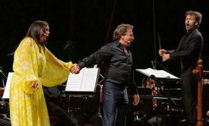 Teatro di Verdura, successo della coppia Alagna-Kurzak in Cavalleria Rusticana