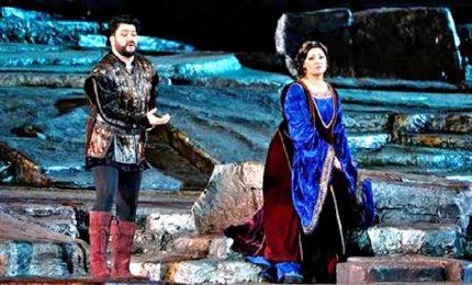 Teatro Verdura di Palermo, serata da non scordare con Netrebko e Eyvazov