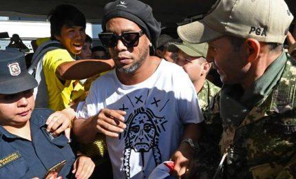 Ronaldinho torna in libertà dopo quasi sei mesi