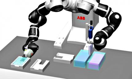 Yumi, robot collaborativo che fa 450 test sierologici all'ora