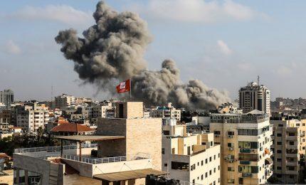 Gaza, esercito israeliano ha bombardato un sito di Hamas