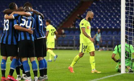 Inter ai quarti di Europa League, battuto 2-0 il Getafe