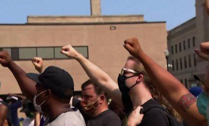 Ancora proteste in Wisconsin per Jacob Blake, vittima dalla polizia