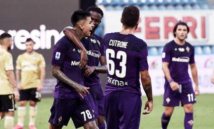 Fiorentina-Cagliari 1-0, decide Vlahovic. Joao Pedro sbaglia rigore