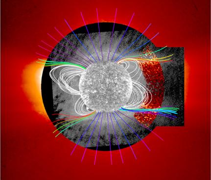 Il telescopio italiano SCORE misura l'elio nella corona solare