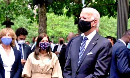 11 settembre, Biden alla commemorazione delle vittime a New York