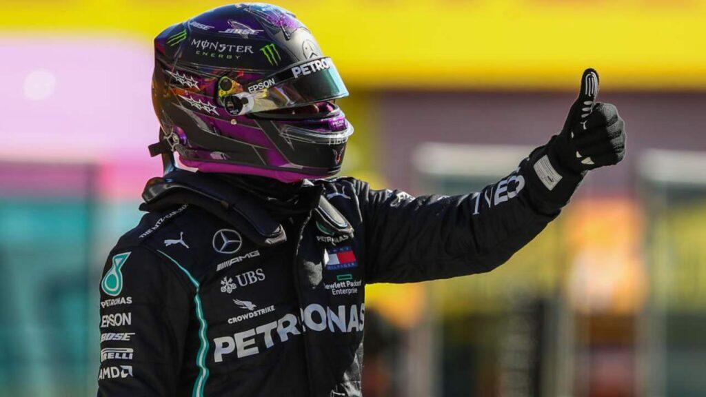 Gp Mugello: Hamilton in pole, Leclerc quinto