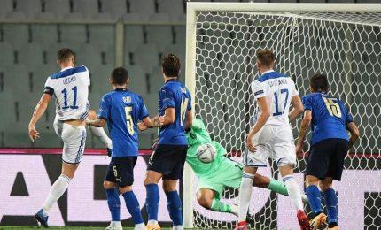 Nations League, Italia-Bosnia 1-1. Sensi pareggia il gol di Dzeko