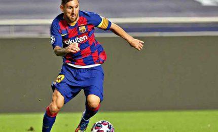 Barcellona, primo allenamento con la squadra per Messi