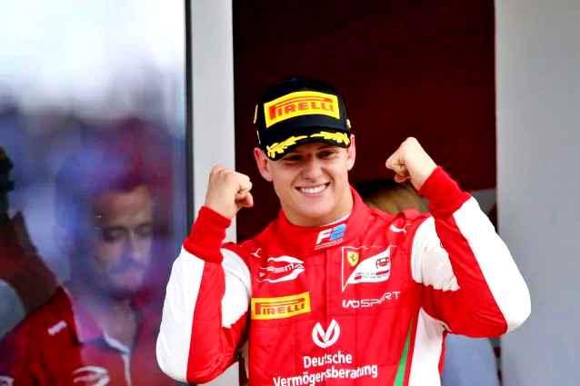 F2: Schumacher jr vince a Monza 20 anni dopo il padre