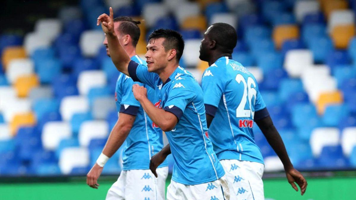 Napoli a valanga: Atalanta affondata 4-1, doppietta di Lozano