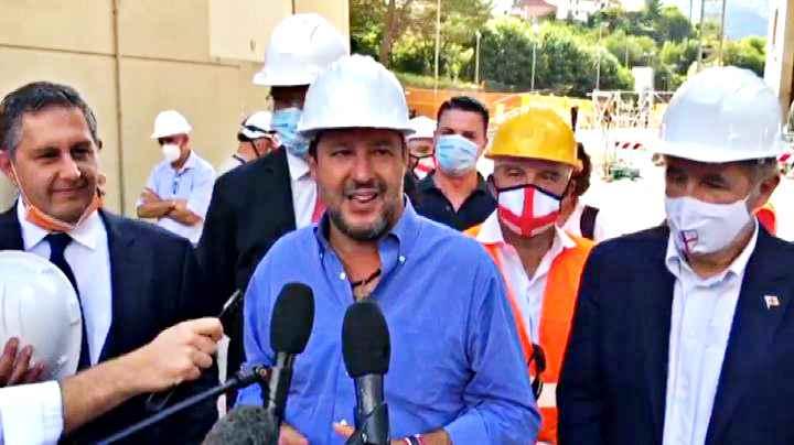 Regionali, Salvini a Genova: possiamo vincere dappertutto