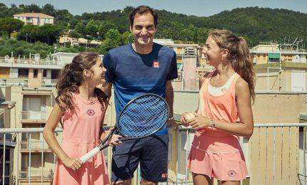 Palleggiavano da terrazzo in lockdown, invitate a finali tennis Roma