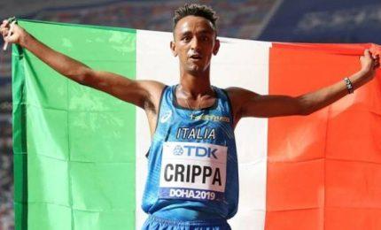 Crippa nella leggenda. Dopo 30 anni record italiano sui 5000