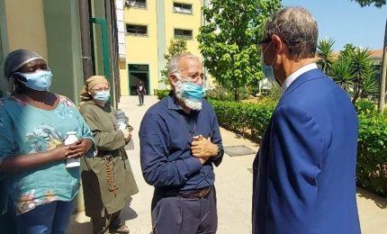 """Covid-19, a Palermo Missione Speranza dichiarata """"zona rossa"""""""