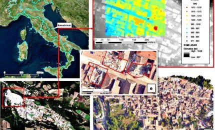 Satelliti, algoritmi e sensori per ricostruzione post-sisma
