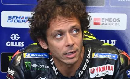 """Rossi saluta la Yamaha ufficiale: """"E' stato come un film"""""""