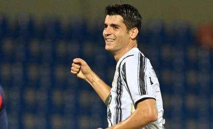 Champions League: Dinamo Kiev-Juventus 0-2, doppietta di Morata