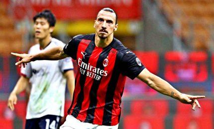 Il Milan si riprende la vetta: 4-0 al Crotone, Ibra 500 gol