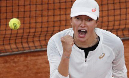 Roland Garros, Iga Swiatek prima finalista