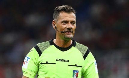 Arbitri serie A: Milan-Roma a Giacomelli, Juve-Verona a Pasqua