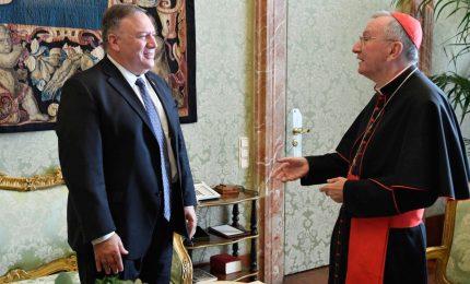 """Mike Pompeo in Vaticano, incontro """"disteso"""" sulla Cina"""