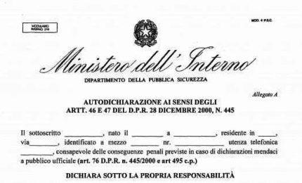 Circolare Viminale su Dpcm, niente sanzioni per feste in casa e autocertidicazione