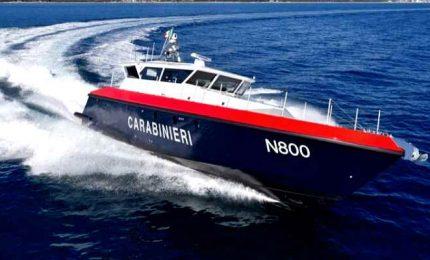 Genova, Ferretti consegna ai carabinieri prima motovedetta ibrida