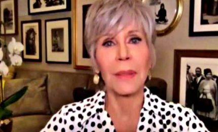 Jane Fonda contro Trump: speriamo che adesso venga arrestato lui