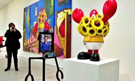 E ora a Londra la mostra si visita da casa grazie al robot