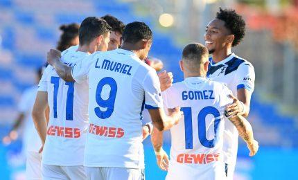 Vincono Atalanta e Sampdoria, Muriel decide al 90'