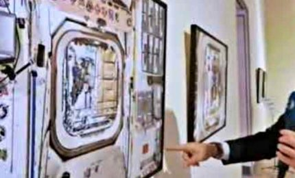 """A Roma """"Interior Space"""", 25 scatti di Paolo Nespoli dalla Iss"""