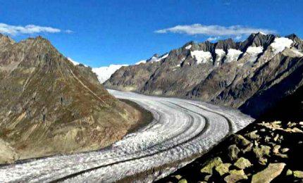 Il più grande ghiacciaio alpino ha raggiunto il minimo storico