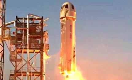 Missione compiuta per capsula New Shepard di Jeff Bezos