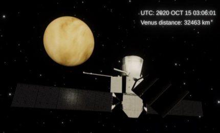 La sonda Esa-Jaxa Bepi Colombo pronta a incontrare Venere