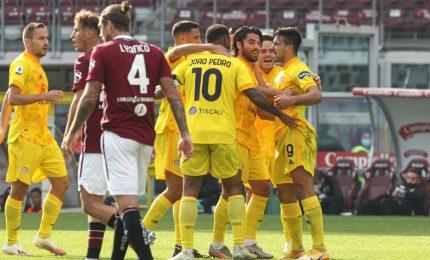 Colpo Cagliari all'Olimpico, terza sconfitta per il Torino (2-3)