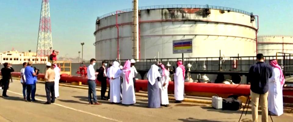 Arabia Saudita, danni a impianto Aramco dopo attacco degli Houthi