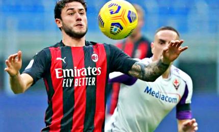 Il Milan batte la Fiorentina e allunga in testa