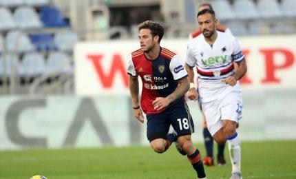 Cagliari-Sampdoria 2-0, risolvono Joao Pedro e Nandez gol