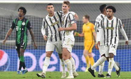 La Juve agli ottavi di Champions con Morata al 92'