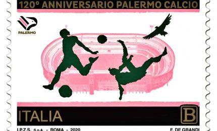 Poste, arriva il francobollo dedicato al Palermo calcio